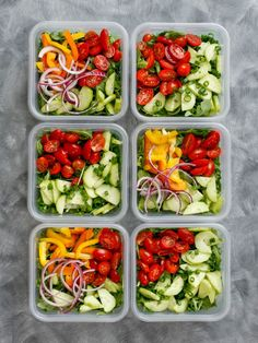 How To Eat Salad Everyday and LIKE IT! get the recipes at barefeetinthekitchen.com