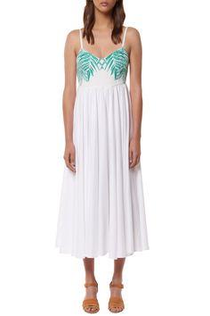 ImportedBodice: Linen/viscose Skirt: Rayon Hand wash cold, dry flat
