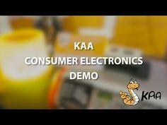 Consumer Electronics demo - Kaa IoT at IFA 2016 - YouTube