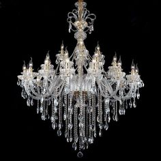 Quality Crystal Chandelier manufacturers & exporter - buy Waterford chandelier for Living room Dining room Hotel Lighting from China manufacturer. Big Chandelier, Crystal Chandelier Lighting, Chandelier In Living Room, Sacred Architecture, Lamp Light, Arm, Ceiling Lights, Crystals, Carousels