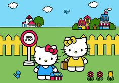 Hello Kitty with Mimmy