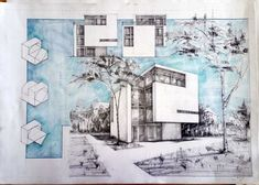 Architecture drawings and sketches vladbucur.ro Architectural drawings and sketches vladbucur. Architecture Concept Drawings, Architecture Sketchbook, Architecture Design, Architecture Diagrams, Building Sketch, Building Design, Sketches, Layout, Architectural Presentation