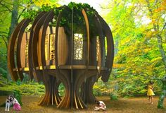 125 Foot Tall Treehouse Teaches Boy Scouts About True ...