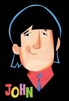 I'm too young to remember this, but I <3 The Beatles!   The Beatles Saturday Morning Cartoon. John!