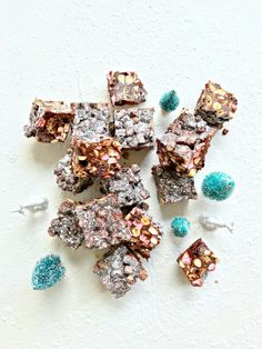 Rocky Road with cranberries