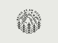 Being As An Ocean by Corinne Alexandra #Design Popular #Dribbble #shots