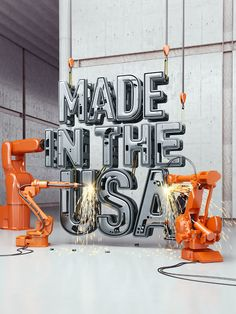 MADE IN THE USA cover illustration for Time by Chris LaBrooy, via Behance