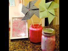 DIY: Cute Glitter Room Decor