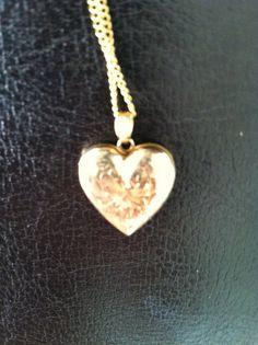 Beautiful antique 10k ESEMCO gold locket by VintageSomerset, $95.00