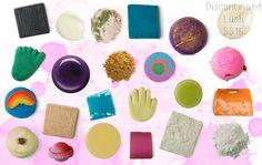 Discontinued Lush products 2015 #lush #lushltd #lushdiscontinued