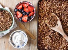 I love granola, it's one of my go to foods – partly because I secretly love eating breakfast three times a day and partly because handfuls of granola make one of the best, easy snacks. I've been obsessively making and loving my cinnamon pecan granolafor the last three years and I honestly never thought I …