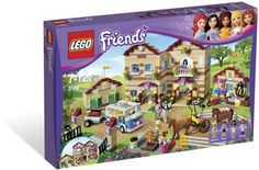 LEGO Friends Summer Riding Camp Head off to Summer Riding Camp with the LEGO Friends! Spend the summer at the LEGO Friends Summer Riding Camp! Lego Girls, Toys For Girls, Kids Toys, Shopkins, Legos, Lego Lego, Lego Toys, Lego Batman, Lego Ninjago
