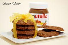 Galletas de Nutella paso a paso. Unas galletas deliciosas
