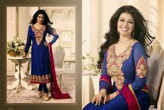 Price Rs 2200..  Semi Stitched Suit Fabric : Georgette To Order whatsapp us on +91-9166586681.. Shipping in India is Free..  For More Follow our facebook page :  https://www.facebook.com/bling.fashion.studio?ref=hl