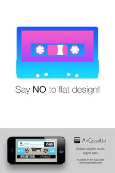 Say no to flat design!