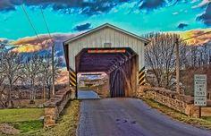 Weaver's Mill Bridge, East Earl, PA Picture #1
