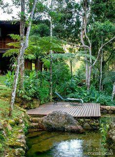 A lush private spot