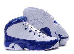 best sneakers 1ab2f d4e0f Cheap Cheaper Nike Air Jordan 9 Phat Retro White And Royal Sneaker UK  Online Shop Store