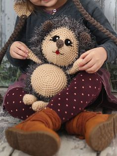 What's New - Crochet - Hedgehog Toy