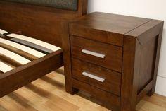 Bedroom Furniture :: Bedroom Sets :: Ceni Brown Queen 4 Piece Modern Bedroom Set - Bachelor Furniture: Bar Furniture, Dorm Furniture, Apartment Furniture