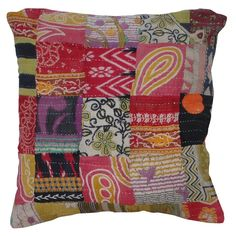 You'll love the Sari Cotton Pillow Cover at Wayfair - Great Deals on all Décor & Pillows products with Free Shipping on most stuff, even the big stuff.