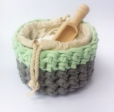 Ever So Woven | Laundry Powder Basket
