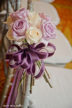 Boca by Design decor. Rose chair decor for wedding ceremony. Jeff Kolodny Photography.