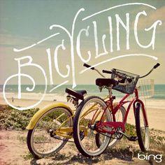 .En bici, en el verano de ese año ;)