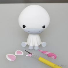 This is not the only cute animal! If you click tutorial on the blog, you will get many adorable figurines! <3