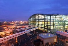 London Heathrow airport...the busiest airport in the UK