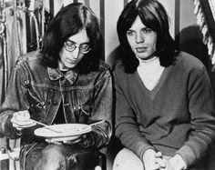 John Lennon & Mick Jagger