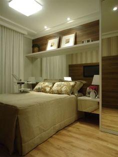Quarto casal empreendimento empreendimento Up Life Pinheirinho / Up Life Pinheirinho Master Bedroom - 2