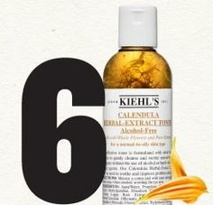 Our #6 Customer Favorite! Calendula Toner is a Kiehl's classic, first introduced to customers more than 40 years ago.