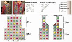 Croche's Inspirations with Any Lucy: Vest Pull Crochet, Gilet Crochet, Crochet Vest Pattern, Crochet Diy, Crochet Coat, All Free Crochet, Granny Square Crochet Pattern, Crochet Jacket, Crochet Stitches Patterns