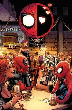 El Asombroso Spiderman 119 conclusión del primer arco que une el destino de Spidey con cierto Mercenario Bocazas. El trepamuros por fin acepta quedar con Wade fuera de horas de trabajo, pero tal vez se arrepienta muy pronto. Además... ¡Masacre va a Hollywood, y se ha llevado a su colega arácnido con él!