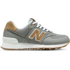 New Balance 574 15 Ounce Canvas Women's 574 Shoes (1.980 UYU) ❤ liked on Polyvore featuring shoes, new balance footwear, new balance, utility shoes, new balance shoes and canvas shoes