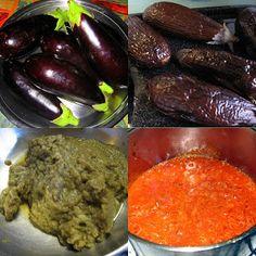 Chachi's Kitchen: Bhurtho - Smokey  Aubergine (Eggplant) Dip