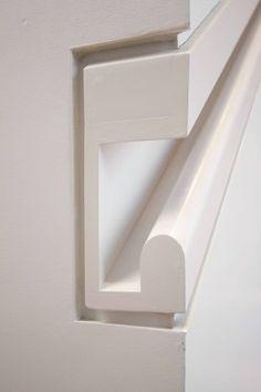 Barandilla de escalera empotrada. By Alexander Briseno.