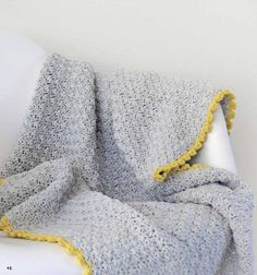 Free #crochet pattern: Cobblestone Blanket by maRRose via Underground Crafter | This #moderncrochet baby blanket can easily be adjusted to a larger size. Try the pattern (shared with permission by Tuva Publishing) and read the review for Colorful Crochet!  #undergroundcrafter #marrose #moderncrochetblanket