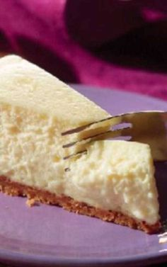 Recipe for PHILADELPHIA Classic Cheesecake - This is the real deal—everything you imagine a cheesecake recipe to be. Creamy. Rich. Delicious. Plus, you made it yourself.