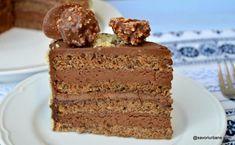 Chocolate Recipes, Chocolate Cake, Creme Caramel, Romanian Food, Cake Tins, Bread Baking, Quick Easy Meals, Vanilla Cake, Sweets