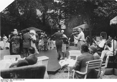 "Tanztee mit Jazzband, Berliner Hotel ""Esplanade"" 1926 (Esplanade is still there ""preserved"" but looks nothing like this)"