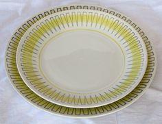 Gefle modell AU - te- och kaffekoppar Vintage Pottery, Porcelain Ceramics, Retro, Sweden, China, Plates, Tableware, Design, Clay