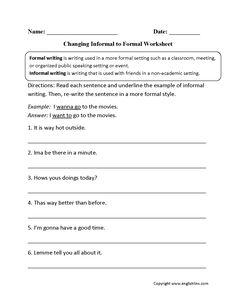 WORD CHOICE Worksheets: Tools for Teaching Writing by Stacey Lloyd