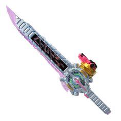 "Cosjoy 28/"" Ninja Storm Black Shadow Ranger PVC Cosplay Prop 1055"