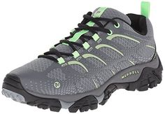 Merrell Womens Moab Edge Hiking Shoe Grey 75 M US * This is an Amazon Affiliate link. Details can be found by clicking on the image.