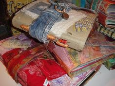 Gathering Up Bits of the World: July 2011   Remains of the Day journals by Susie Muse