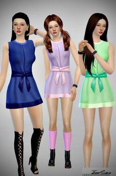 Jenni Sims: Sets of Dress • Sims 4 Downloads