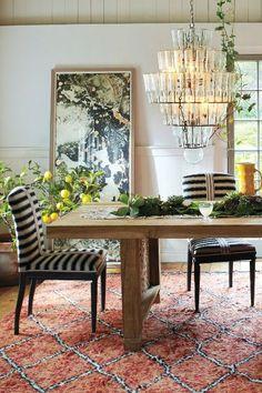 grassland striped dining chair #anthrofave #homedecor