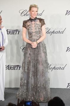 Cate Blanchett in Valentino at Cannes
